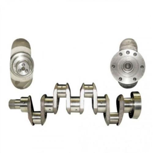 Cigueñal con rodamientos y chavetero tractor renault/Claas series 12-14,Ceres, 32-34